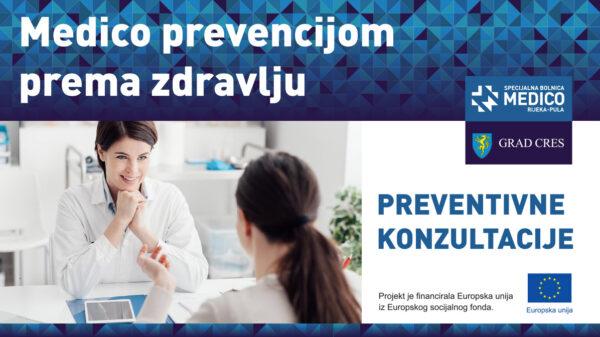 """PREVENTIVNE KONZULTACIJE """"Medico prevencijom prema zdravlju"""""""